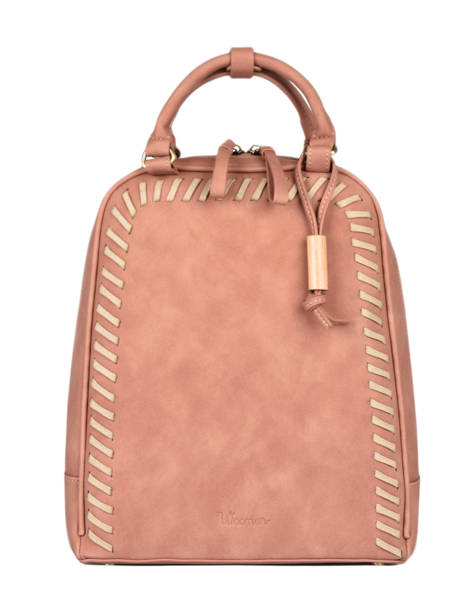 Backpack Woomen Pink nenuphar WNEN02