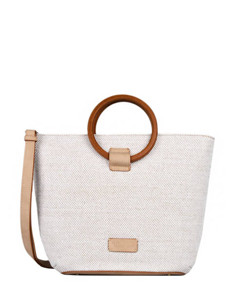 Top Handle Magnolia Recycle Woomen Beige magnolia recycle WMAG3R