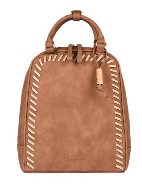 Backpack Woomen Brown nenuphar WNEN02