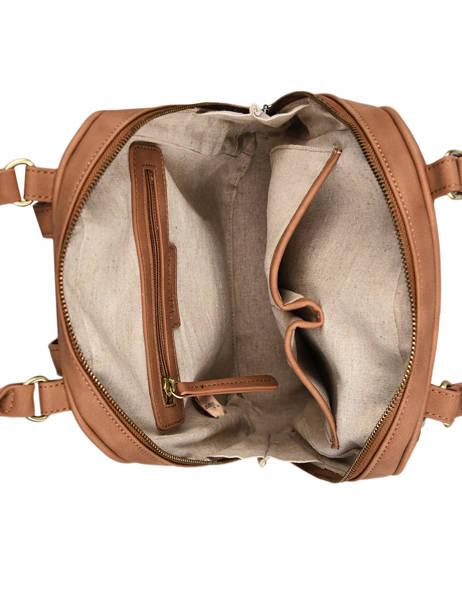 Backpack Woomen Brown nenuphar WNEN02 other view 4