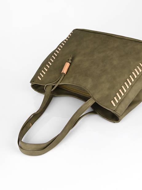 Shoulder Bag Nenuphar Woomen Green nenuphar WNEN03 other view 2