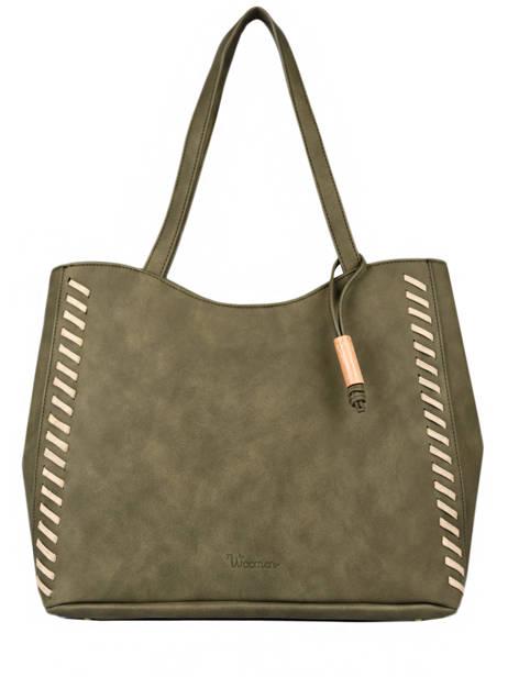 Shoulder Bag Nenuphar Woomen Green nenuphar WNEN03