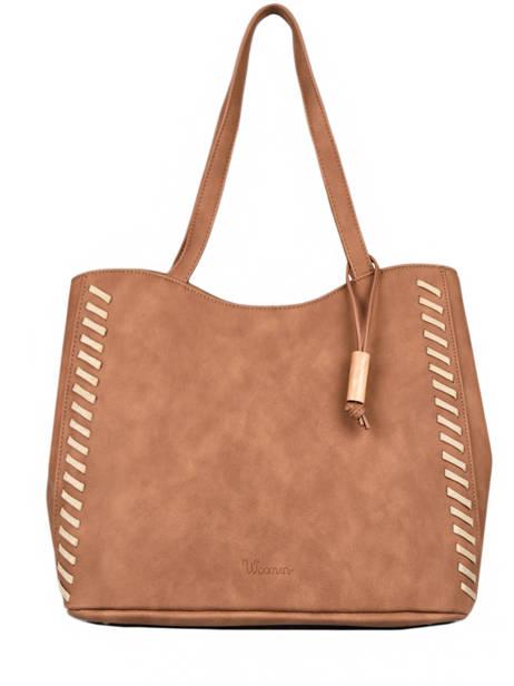 Shoulder Bag Nenuphar Woomen Brown nenuphar WNEN03