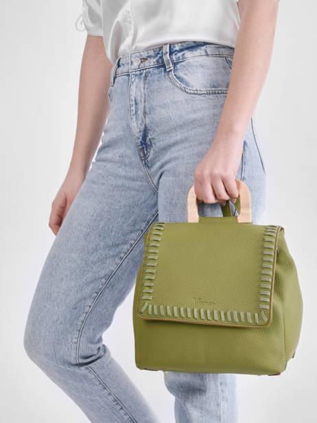 Backpack Woomen Green glaieul WGLA06 other view 1