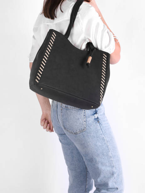 Shoulder Bag Nenuphar Woomen Black nenuphar WNEN03 other view 1