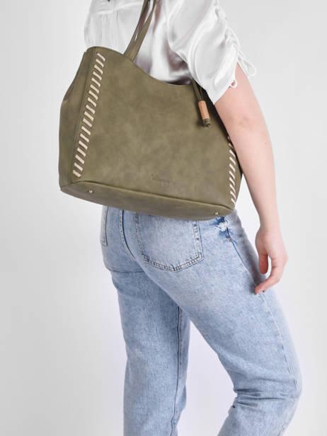 Shoulder Bag Nenuphar Woomen Green nenuphar WNEN03 other view 1