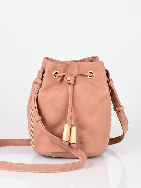 Shoulder Bag Nenuphar Woomen Pink nenuphar WNEN01 other view 3