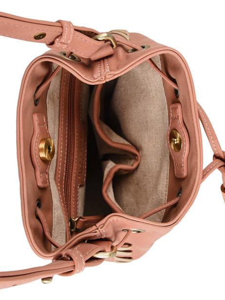 Shoulder Bag Nenuphar Woomen Pink nenuphar WNEN01 other view 5