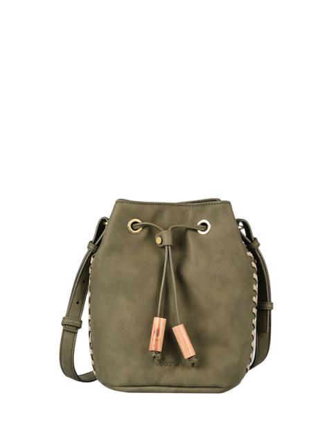 Shoulder Bag Nenuphar Woomen Green nenuphar WNEN01