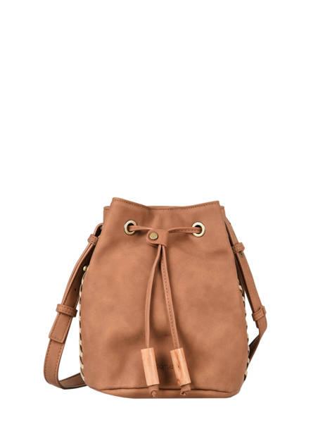 Shoulder Bag Nenuphar Woomen Brown nenuphar WNEN01