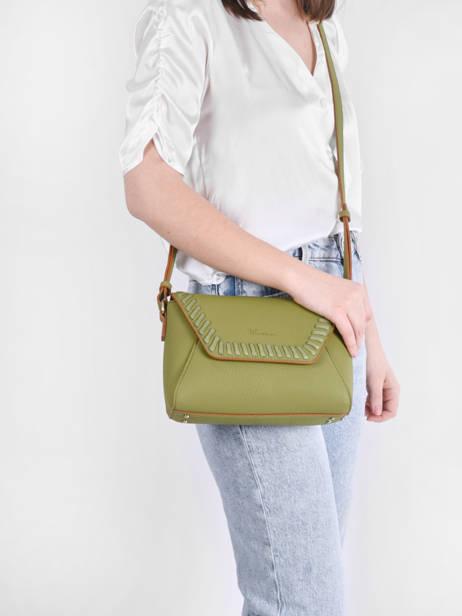 Shoulder Bag Glaieul Woomen Green glaieul WGLA01 other view 1