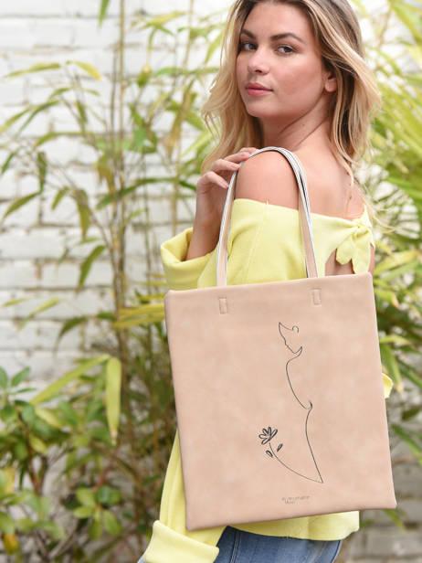 Shoulder Bag Lilas Woomen White lilas WLILA01