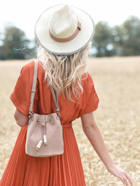 Shoulder Bag Nenuphar Woomen Pink nenuphar WNEN01