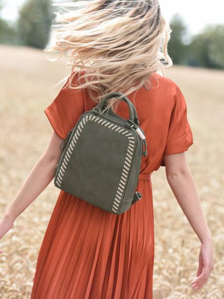 Backpack Woomen Green nenuphar WNEN02