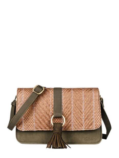 Shoulder Bag Dahlia Woomen Green dahlia WDAH04