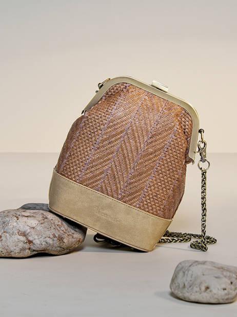 Shoulder Bag Dahlia Woomen Beige dahlia WDAH08