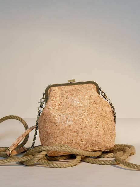 Shoulder Bag Coquelicot Woomen Gold coquelicot WCOL07