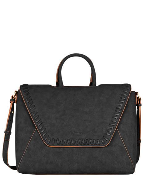 Briefcase A4 Woomen Black gentiane WGEN81