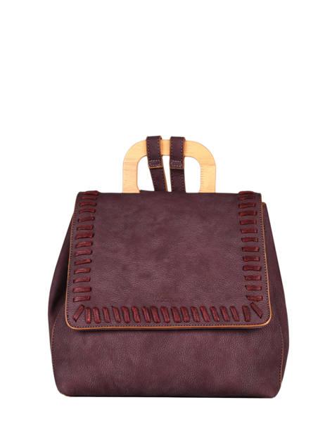 Backpack Woomen Violet gentiane WGEN06