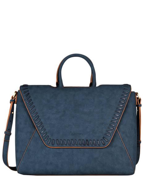 Briefcase A4 Woomen Violet gentiane WGEN81