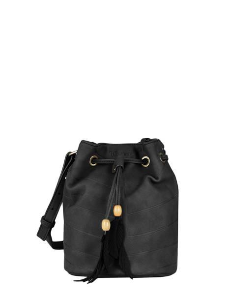 Shoulder Bag Nervure Woomen Black nervure WNER01
