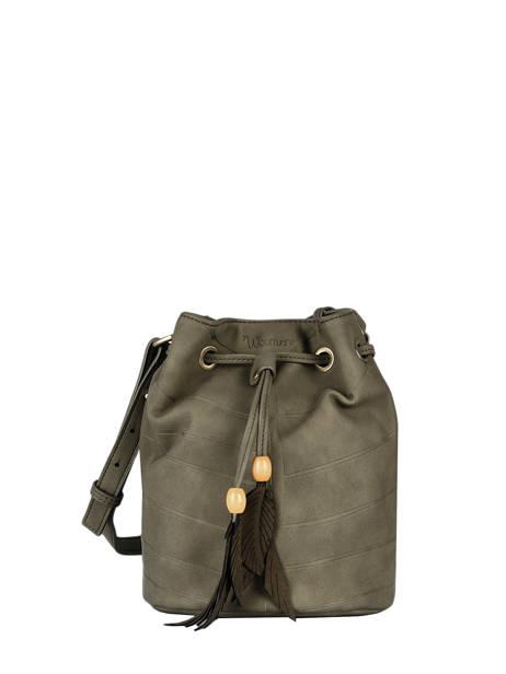 Shoulder Bag Nervure Woomen Brown nervure WNER01