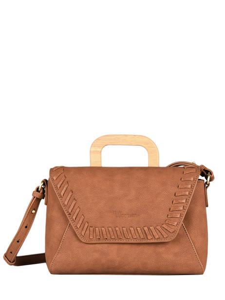 Shoulder Bag Gentiane Woomen Brown gentiane WGEN01