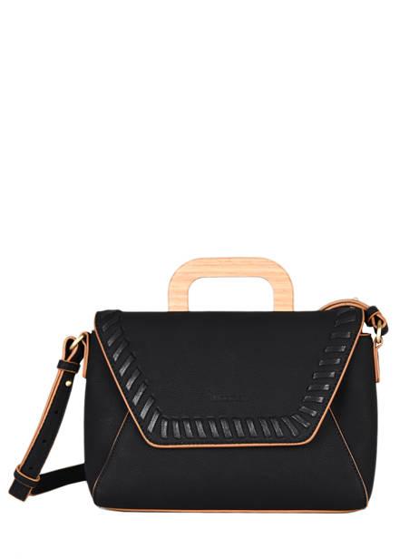 Shoulder Bag Gentiane Woomen Black gentiane WGEN01