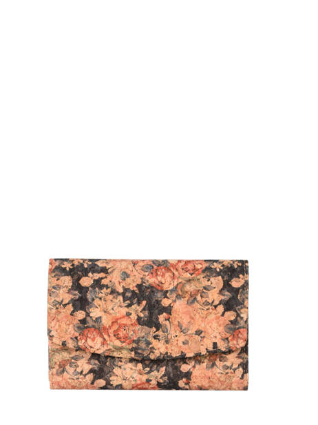 Compact Wallet Coquelicot Woomen coquelicot WCOL91