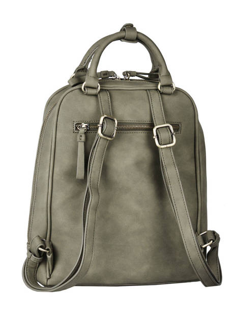 Backpack Woomen Brown nervure WNER02 other view 4