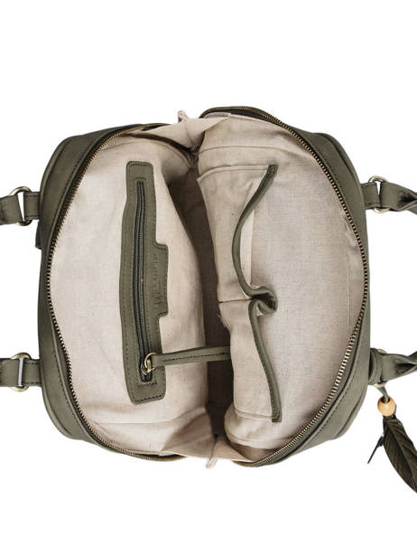 Backpack Woomen Brown nervure WNER02 other view 3