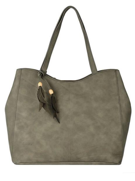 Shopping Bag Nervure Woomen Brown nervure WNER03