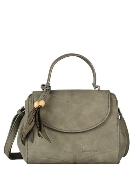Shoulder Bag Nervure Woomen Green nervure WNER05